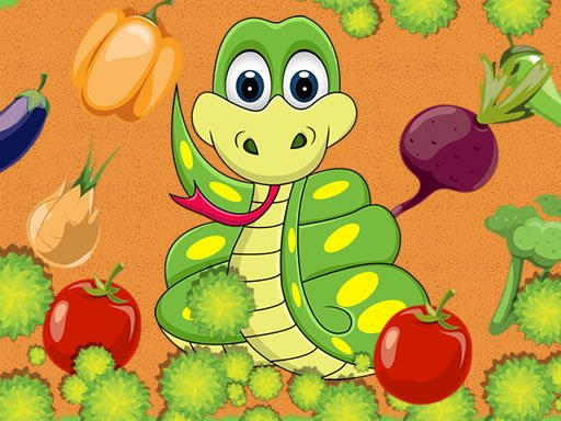 Play Vegetable Snake Now!
