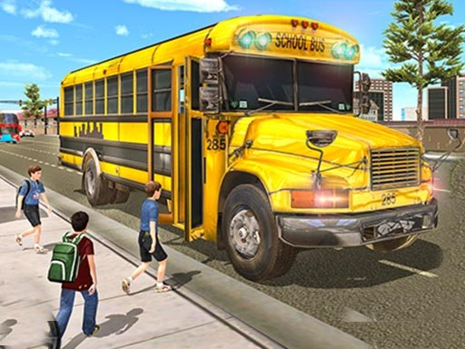 Play Real School Bus Driving Now!