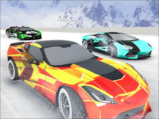 Play Snow Fall Hill Track Racing Now!