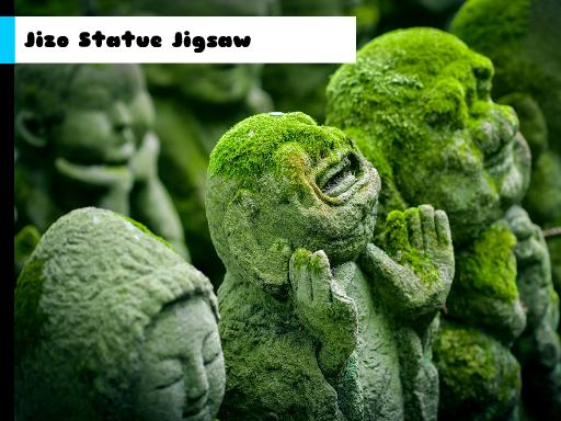 Play Jizo Statue Jigsaw Now!