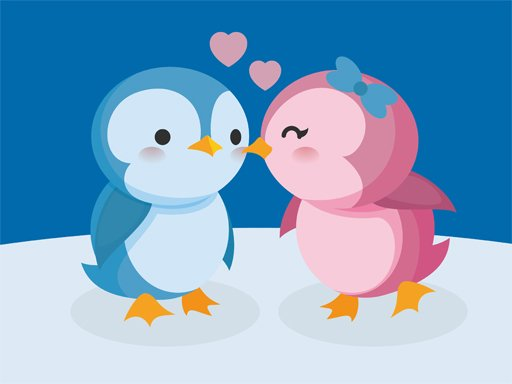 Play Cute Penguin Puzzle Now!