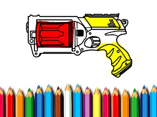 Play BTS Nerf Coloring Book Now!