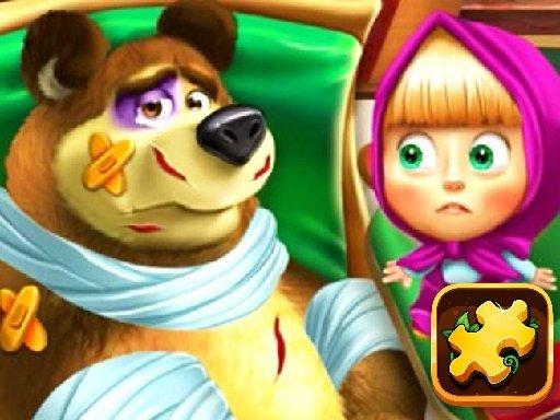 Play Masha and the Bear Jigsaw  Now!