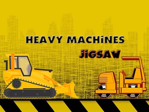 Play Heavy Machinery Jigsaw Now!