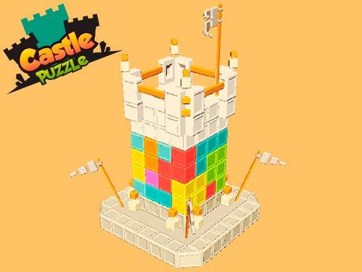 Play Castle Puzzle 3D Now!