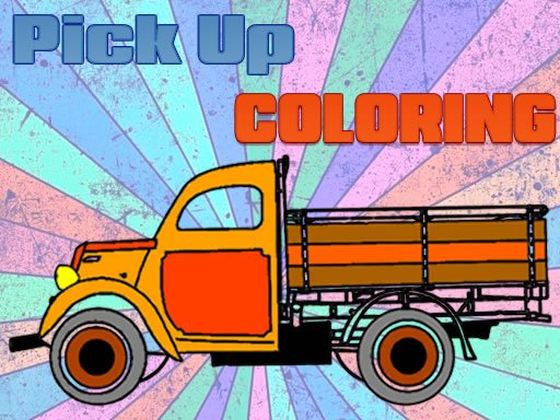 Play Pick Up Trucks Coloring Now!