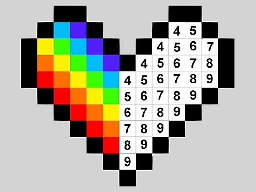 Play Color by Numbers Now!