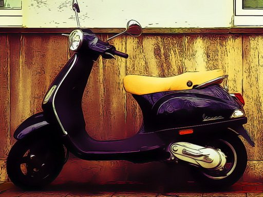 Play City Scooter Bike Jigsaw Now!