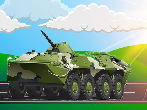 Play Military Vehicles Jigsaw Now!