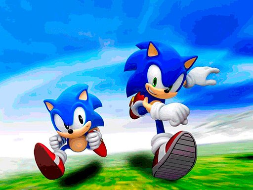 Play Sonic Jigsaw Puzzle Collection Now!