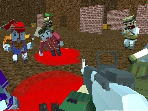 Play Blocky Warfare the Aweper Zombie Now!