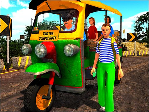 Play Rikshaw Tuk Tuk Driver Now!
