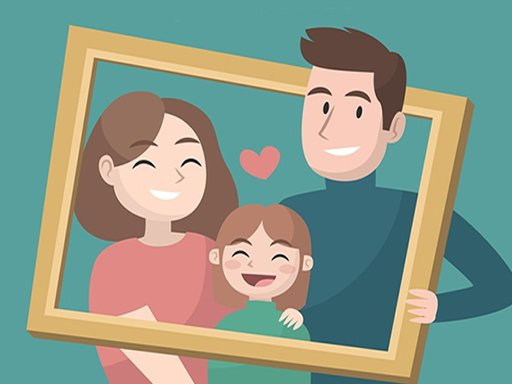 Play Happy Family Puzzle Now!