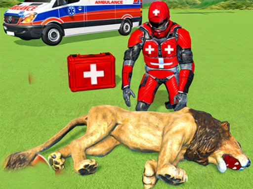Play Animals Rescue Game Doctor Robot 3D Now!
