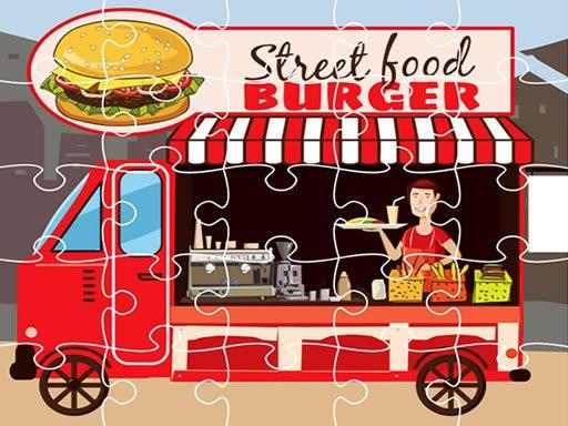 Play Burger Trucks Jigsaw Now!