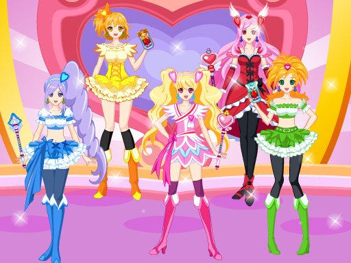 Play Pretty Cure 4 Now!