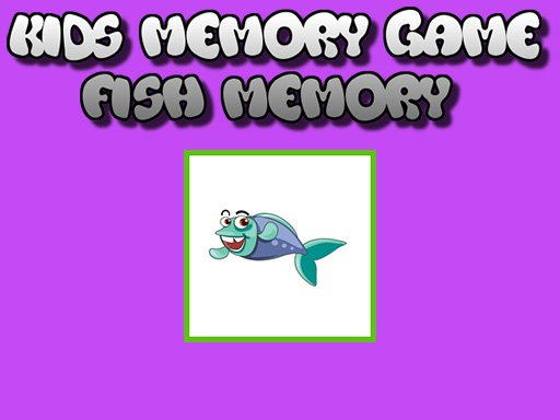 Play Fish Memory - Kids Learning Games Now!