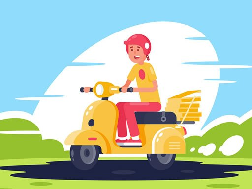 Play City Scooter Rides Jigsaw Now!