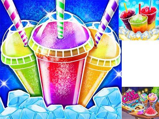 Play Icy Food Maker - Frozen Slushy Now!