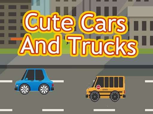 Play Cute Cars And Trucks Match 3 Now!