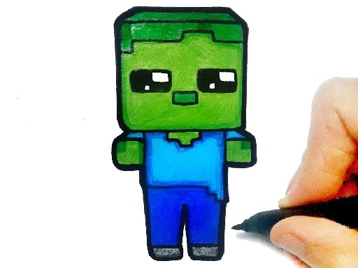 Play Easy Kids Coloring Minecraft Now!