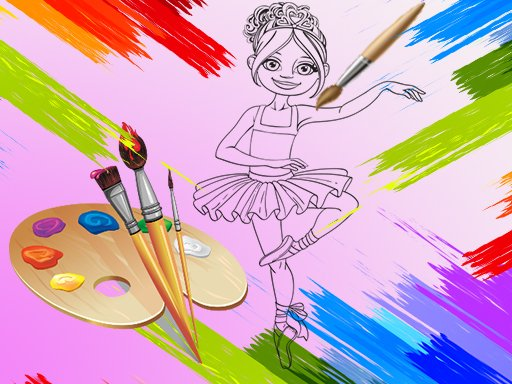 Play Little Ballerinas Coloring Now!