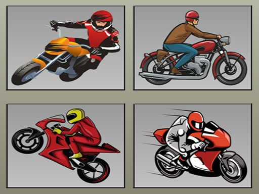Play Racing Motorcycles Memory Now!