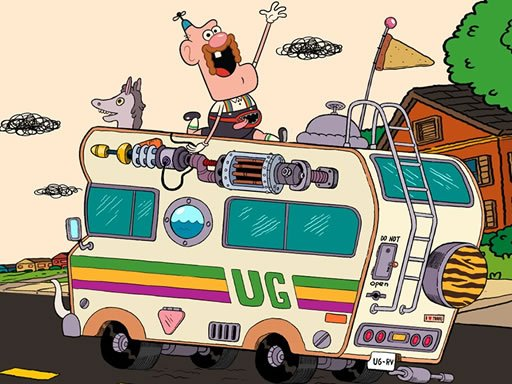 Play Uncle Grandpa Hidden Now!