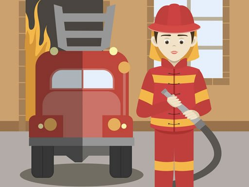 Play Firefighters Match 3 Now!