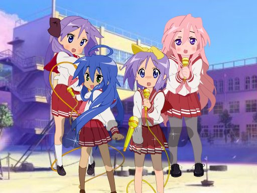 Play Lucky Star Dressup	 Now!