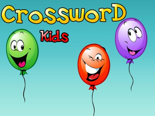 Play Crossword For Kids Now!
