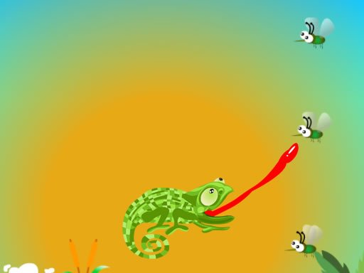Play Chameleon Want Eat Now!