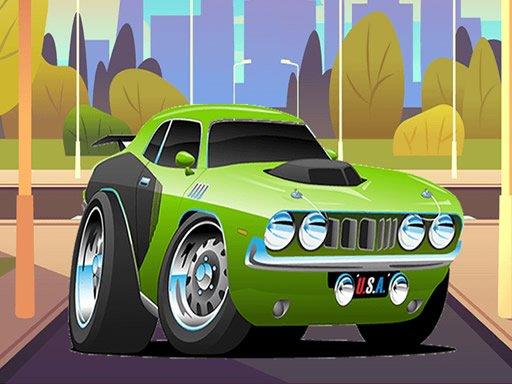 Play Speedy Muscle Cars Jigsaw Now!