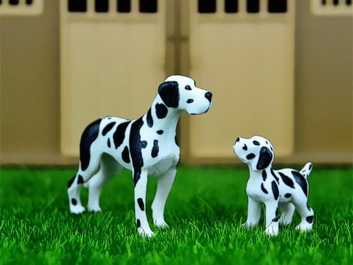 Play Domestic Animals Jigsaw Now!