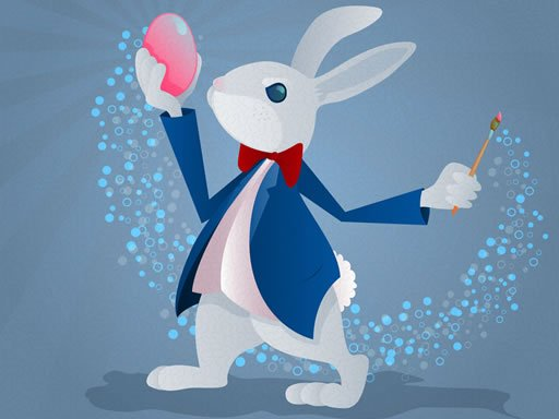Play Funny Bunnies Coloring Now!