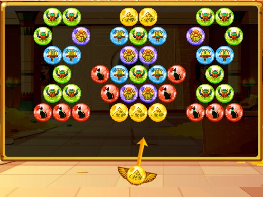 Play Bubble Shooter Egypt Now!