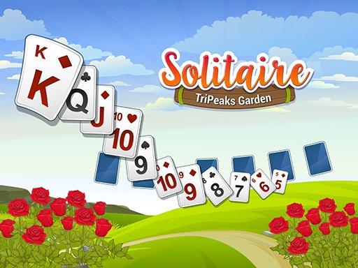 Play Solitaire TriPeaks Garden Now!