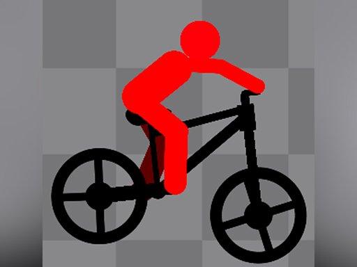Play Stickman Bike Runner Now!