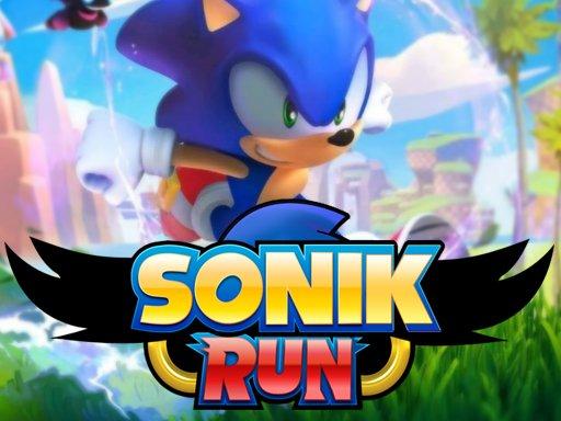 Play SoniK Run Now!