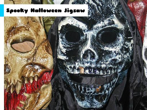Play Spooky Halloween Jigsaw Now!