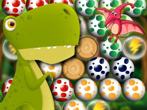 Play Egg Shooter Bubble Dinosaur Now!