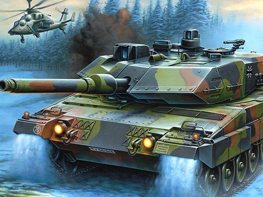 Play War Tanks Jigsaw Puzzle Collection Now!