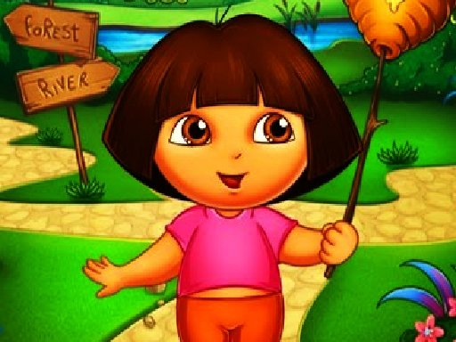 Play Dora The Explorer Jigsaw Puzzle Now!