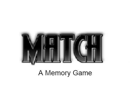 Play Match - A memory game Now!