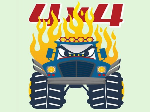 Play Monster Trucks Coloring Pages Now!