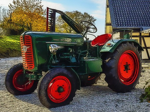 Play Farmer Tractor Puzzle Now!