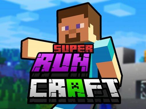 Play Super RunCraft Now!