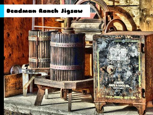 Play Deadman Ranch Jigsaw Now!