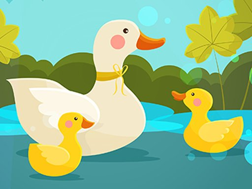 Play Mother Duck and Ducklings Jigsaw Now!