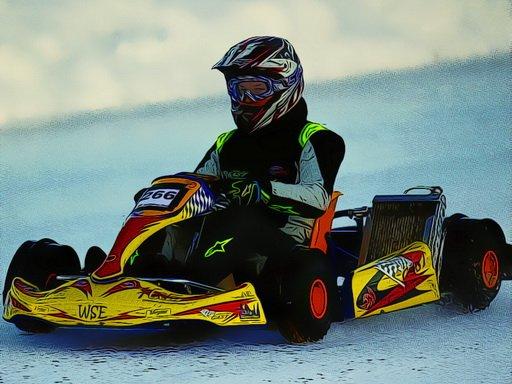 Play Kart Racing Jigsaw Now!